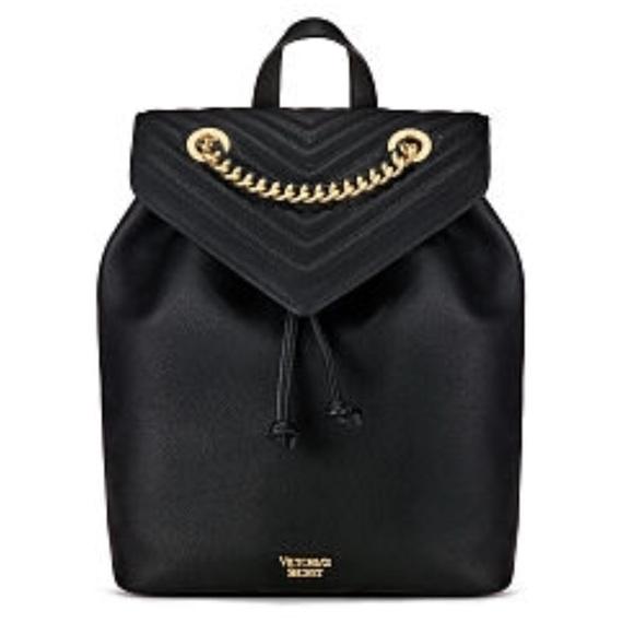 216b49ac1cbd Victoria s Secret Pebbled V-Quilt Angel Backpack